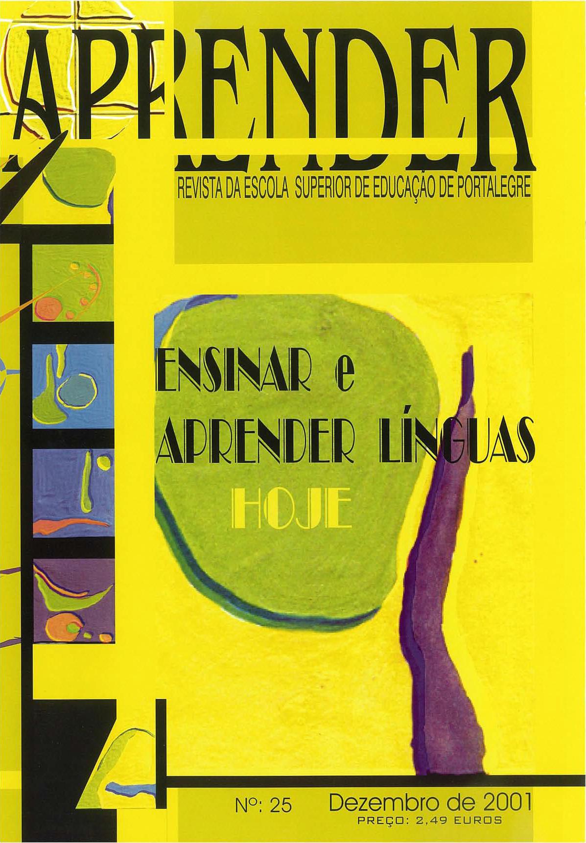 Revista Aprender nº 25